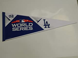 2018 WORLD SERIES LOS ANGELES DODGERS PENNANT FULL SIZE 30 X 14