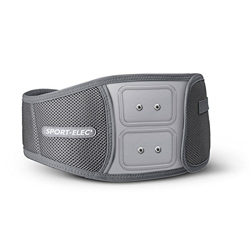 Sport-Elec CTBB2MEAV2, Cintura per Elettrostimolatore con Moduli Unisex, Grigio, M