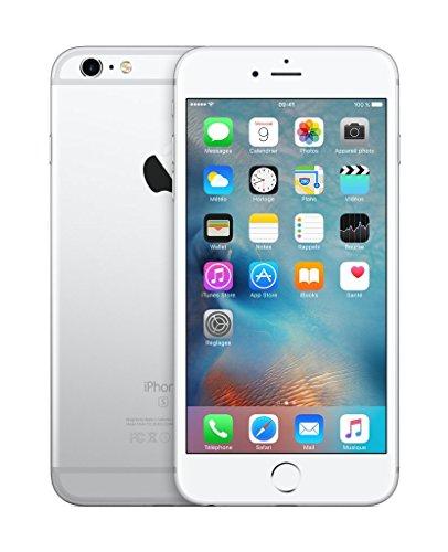 Apple iPhone 6s Plus 64GB 4G Plata - Smartphone (SIM única, iOS, NanoSIM, EDGE, GSM, DC-HSDPA, HSPA+, TD-SCDMA, UMTS, LTE) (Reacondicionado Certificado)