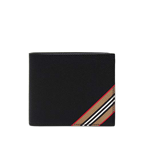 『Iconstripe leather International Bifold Wallet』