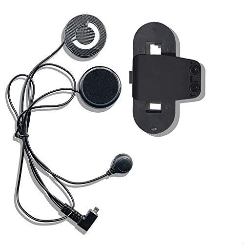Oferta de FreedConn Auriculares Para Casco Moto Intercom Talkie accesorio Clip y auriculares manos libres para el T-COMVB y T-COMSC casco de la motocicleta de Bluetooth Interphone del intercomunicador