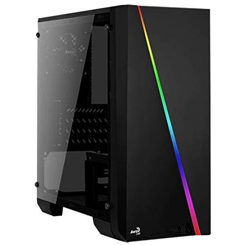 PC Case Micro-ATX Without PSU AEROCOOL Cylon Mini RGB - USB3.0 Tempered Glass