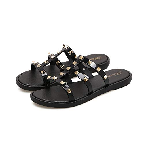 Joy & Lemon Womens Strappy Open Toe Mules