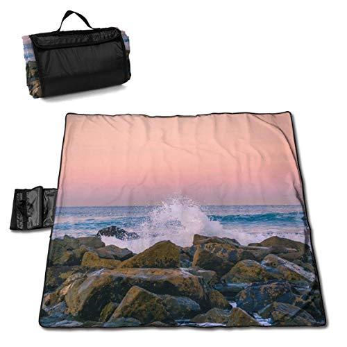 Suo Long Couverture de Pique-Nique Rocks Tapis de Pique-Nique Pliant Le Tapis de Camping Portable