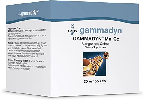 UNDA - GAMMADYN Mn-Co - Manganese-Cobalt Oligo-Element Supplement - 30 Ampoules