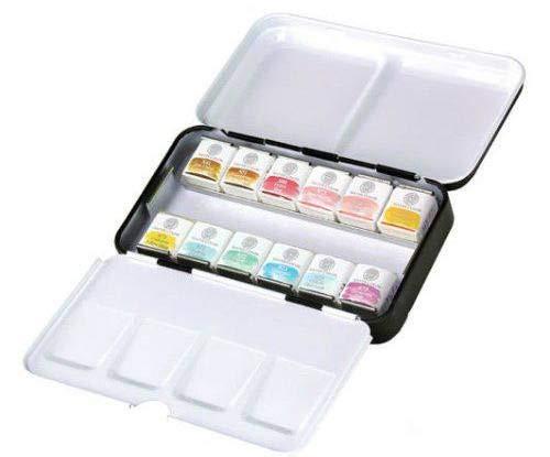 Watercolor Paints Mungyo Professional Set of Nostalgia Pastel Small (12pc) Mungyo, Fine Writing