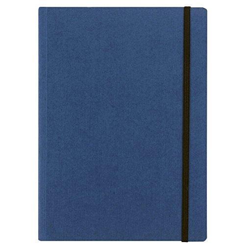Fabriano taccuino con elastico – colore blu – fogli puntinati - formato a5