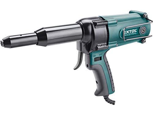 Elektrische Nietzange, Nietpistole, 400W, Zugkraft 8000N, für 3,2-4,0-4,8mm Blindnieten, Extol Industrial 8794550