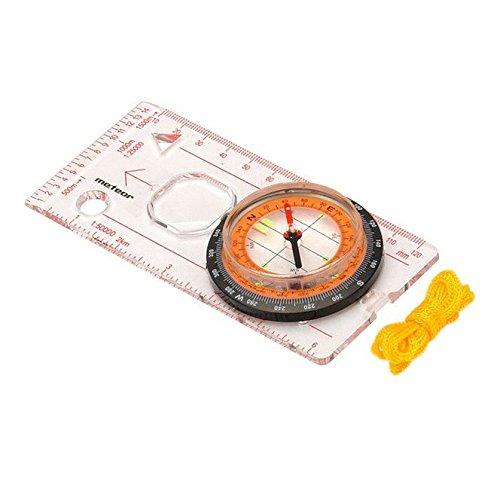 Kompass mit einem Lineal