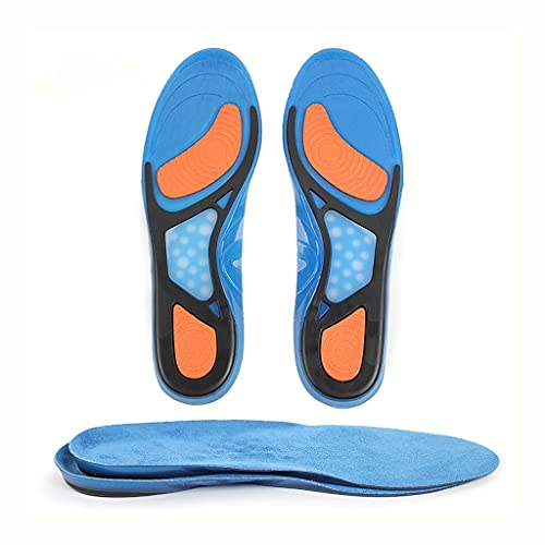 GYZX Plantilla de Zapatos Deportivos para Hombres Mujeres Masaje Suede Shoe Inserts para Caminar, Correr, Senderismo Colgajilla de cojín (Size : EU 35-43)