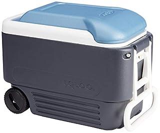 Igloo 49496 MaxCold Cooler, Jet Carbon/Ice Blue/White, 100 Quart (B01B4PB0NA) | Amazon price tracker / tracking, Amazon price history charts, Amazon price watches, Amazon price drop alerts