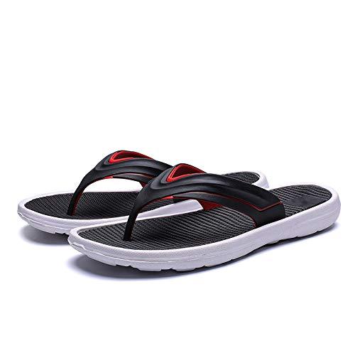 GYCZC Chanclas De Verano Sandalias Y Zapatillas Al Aire Libre Antideslizantes para Hombres Zapatillas De Playa De Moda Casual Zapatillas para Hombres Pies Masculinos