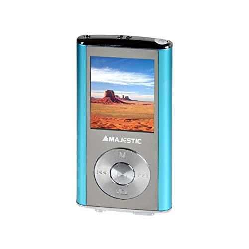 Majestic 1.8†LCD, Video AMV, Audio MP3/WMA, Equalizzatore, USB 2.0, 3.5mm, Azzurro