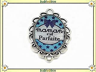 1 imán mamá perfecta estrellas corbata de lazo azul blanco ...