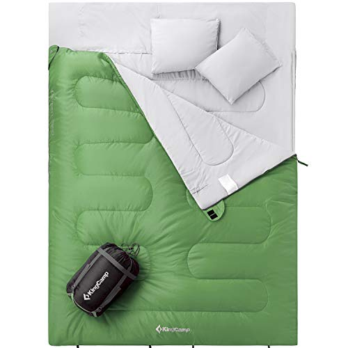 KingCamp Camping Sleeping Bag for Adults Youth 3 Season...