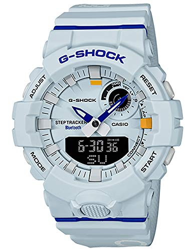 G-SHOCK Analog-Digital Step Tracker White Dial Men's Watch GBA800DG-7A