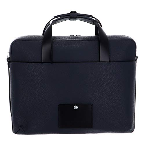 Porsche Design Voyager 2.0 Briefbag SHZ Aktentasche 39 cm Night Blue