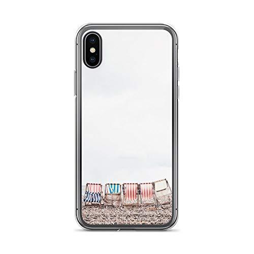 blitzversand Handyhülle PELIKAN Pelican kompatibel für Huawei G8 Mini Strandkörbe Beach Nordsee Schutz Hülle Case Bumper transparent M1