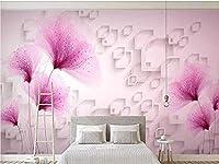 夢の花のリビングルームのソファの背景壁の壁画の壁紙壁の装飾写真の壁紙3D壁紙壁画の寝室-200x140cm