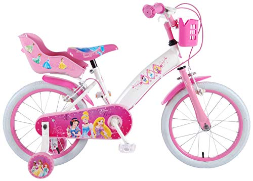 16 Zoll Kinder Mädchen Fahrrad Mädchenfahrrad Kinderfahrrad Mädchenrad Rad Bike Disney Princess Prinzessin Volare 31606 CH-IT