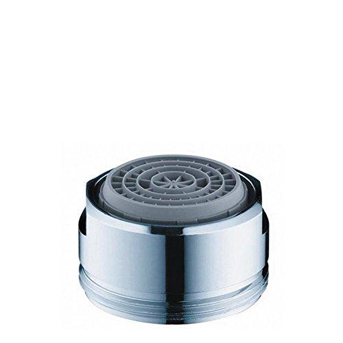 hansgrohe Ersatzteil wassersparender Luftsprudler (mit Durchflussbegrenzer, 7l/min) Chrom