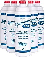 Aquasonic 100 - Gel de transmisión de ultrasonidos (0,25 L, 6 unidades)