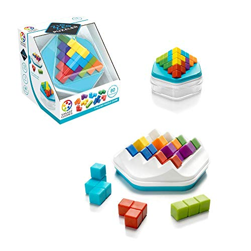 SmartGames Zig Zag Puzzler - A Skill-Building 3D Puzzle Game with 2 Play Modes for Ages 12 - Adult