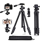 Best Lightweight Tripods - Abithid Camera Tripod DSLR Stand, Phone Holder Tripod Review