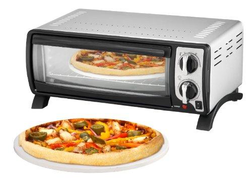 Team Kalorik TKG MBO 1000 Pizza-Ofen, Metall, Rot