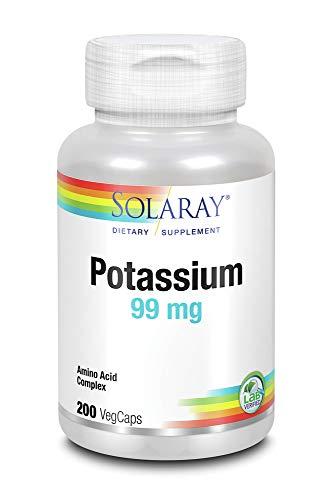 Potassium 99mg Solaray 200 Caps