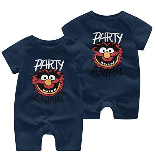 The The Muppets Animal Bodysuit Infant Onesie Navy