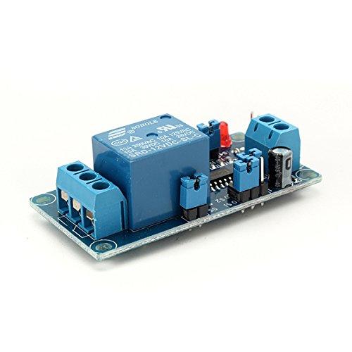 ILS - 12V Einschaltverzögerung Relaismodul Verzögerung Satzbau NE555 Chip