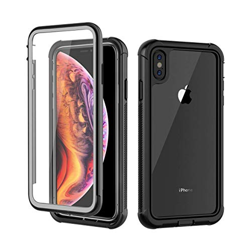 iPhone Xs Max Case, AIYUE Anti-Scratch Built in Screen Protector, Full...