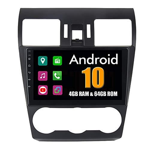RoverOne 9 Pouces Système Android Octa Core Autoradio Lecteur GPS de Voiture pour Subaru Forester 2013 2014 2015 2016 avec Navigation Radio stéréo Bluetooth Mirror Link Full écran Tactile