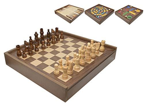 Vidal Regalos 5-in-1 Tisch-Set, Holz, 30 cm