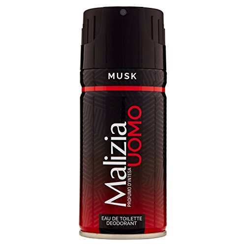 Malizia Eau de Toilette Deodorant Red Musk 150ml