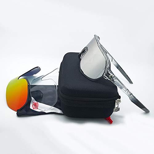 ZYQDRZ Champion Commemorative Polarized Cycling Glass, TR90 Totalmente Recubierto, Conducción De Múltiples Protección, Gafas Deportivas Unisex Al Aire Libre,#2