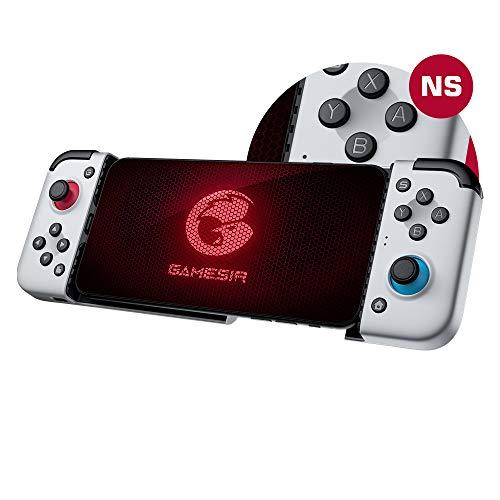 GameSir Controller Mobile Game X2 per Telefono Android - Cloud, Stadia, Supportato Vortex Gaming, Joystick Mobile di Tipo-C con Filo, Gamepad Plug And Play E-Sports, Levette Analogiche Cliccabili