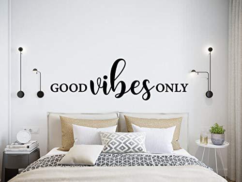 Anyuwerw Good Vibes Only - Adhesivo de pared para decoración del hogar