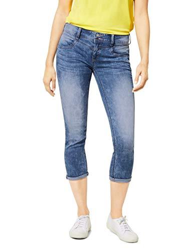 Street One Damen Jane Jeans, mid Blue Acid wash, W28/L26