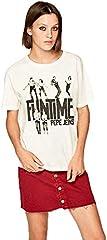 Pepe Jeans Camiseta Baile de Manga Corta para Mujer - PL504348