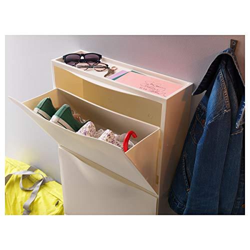 IKEA TRONES Schuhschrank/Aufbewahrung weiß