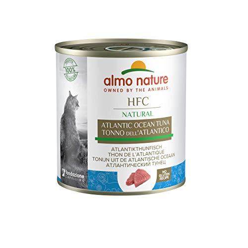 almo nature HFC Natural Tonno dell'Atlantico Umido Gatto 100% Naturale - Pacco da 12 X 280 g