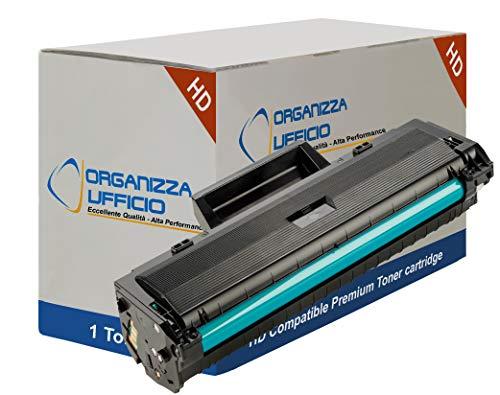 Organizza Ufficio Toner compatibile con Hp W1106A, CON CHIP, Hp Laserjet MFP 135a, 135w, 137fnw, 103a, 106a, 107a, 107w, 108a.