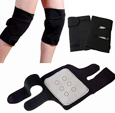 WideWings Magnetic Therapy Knee Hot Belt Self Heating Knee pad Knee Support Belt Tourmaline Knee Braces Support Heating Belt - Free size