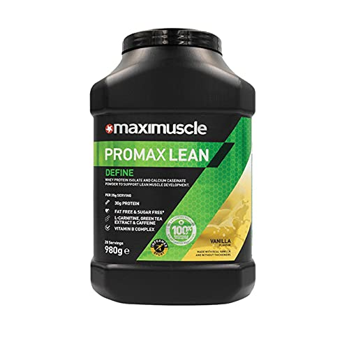Maximuscle Promax Lean | Whey Protein Sports Supplement Powder for Weight...