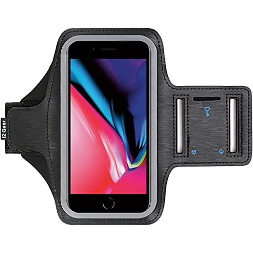 i2 Gear Running Phone Armband Case - Compatible with iPhone 8 7 6 6S SE...