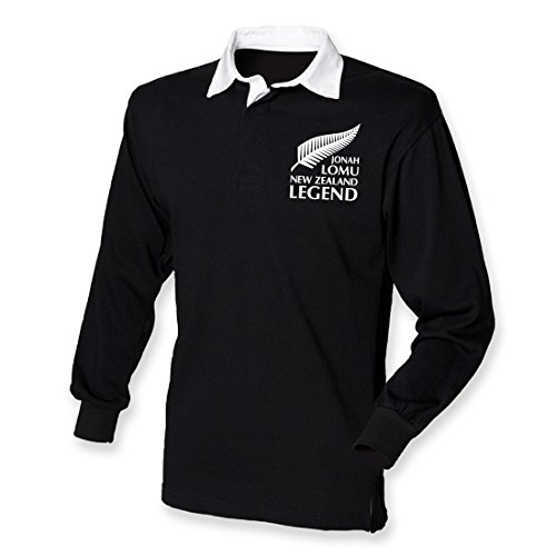 Jonah Trikot Tribute New Zealand Rugby Legend Shirt, Small