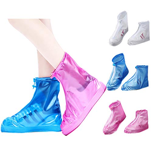 Biluer 3PCS Cubrecalzado Impermeable, Cubierta del Zapato Protector de Zapatos para la Lluvia para D¨ªas de Lluvia y Nieve