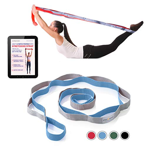 Sport2People Stretching Strap for Yoga
